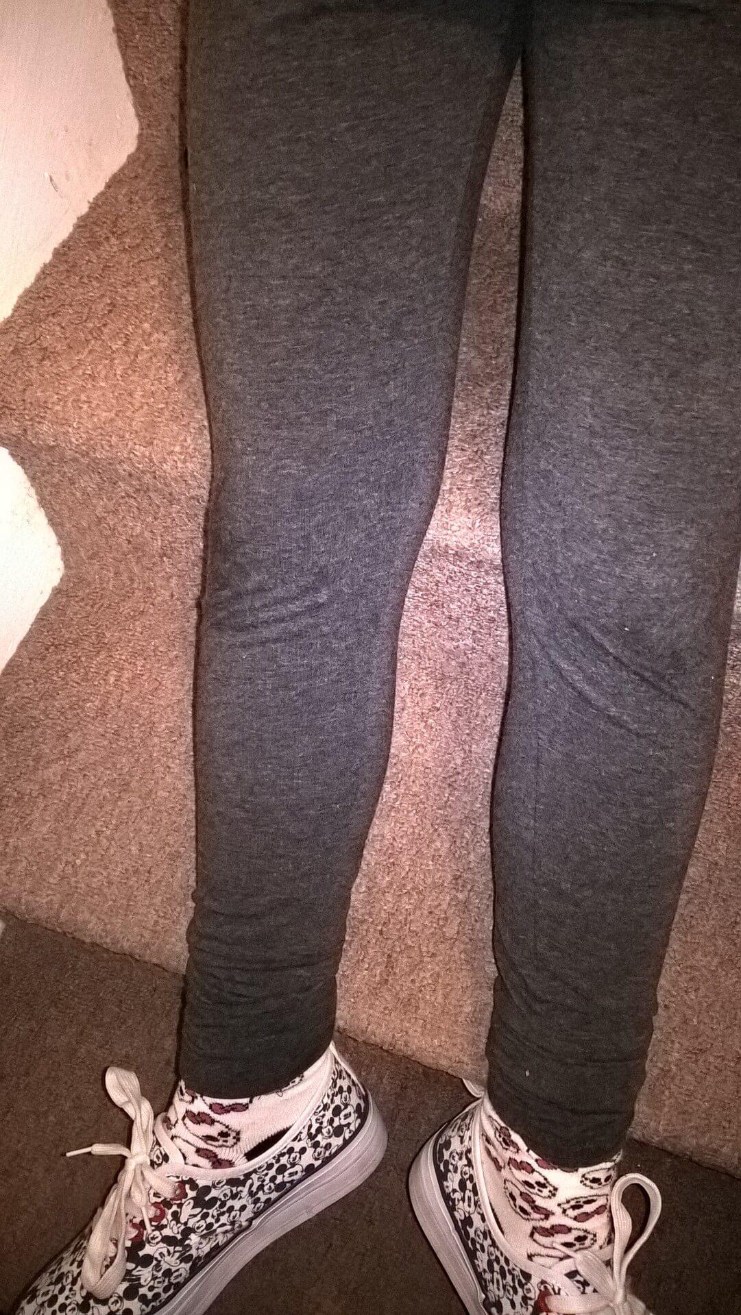 grey primark leggings