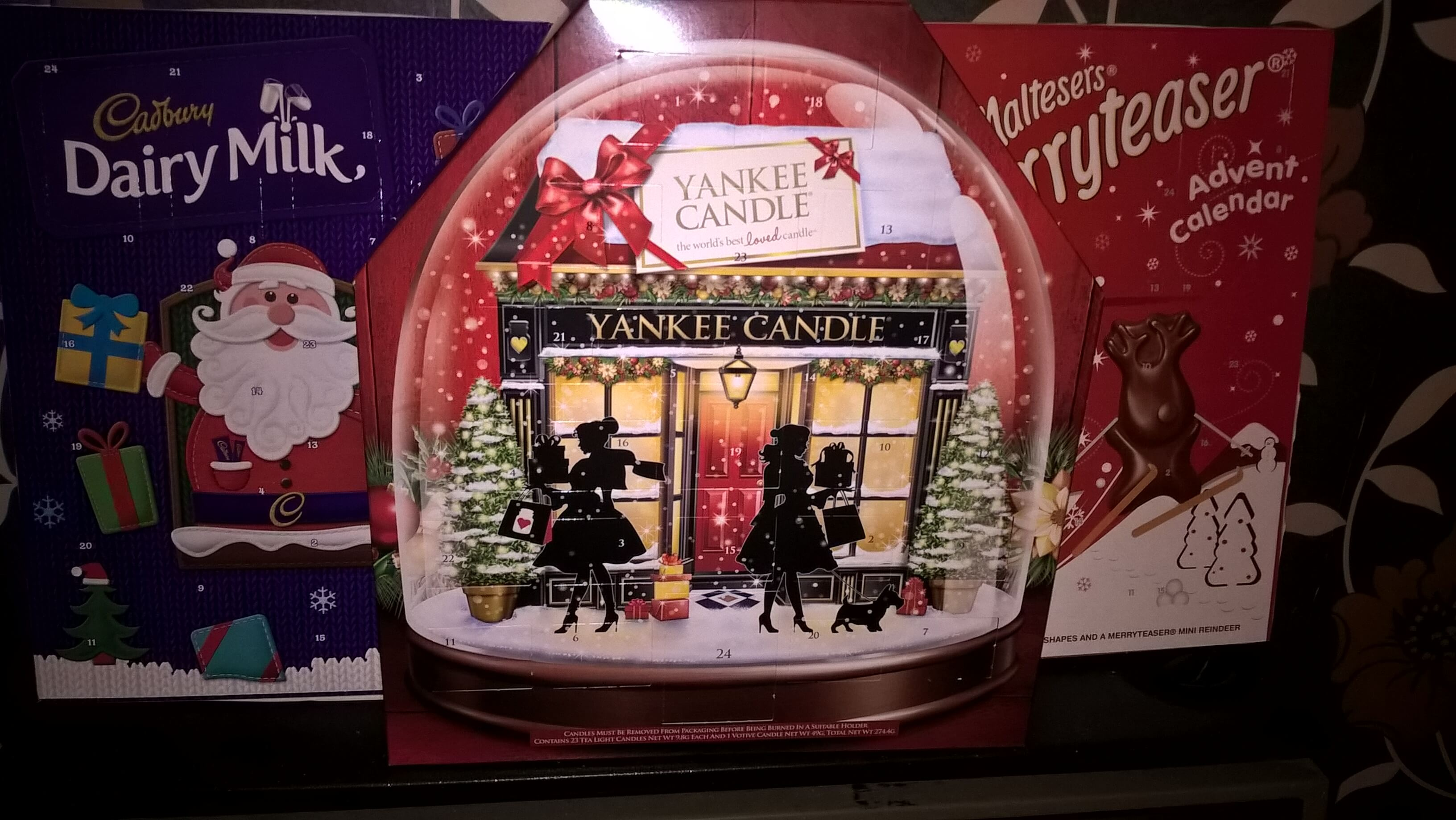 advent calendars for december