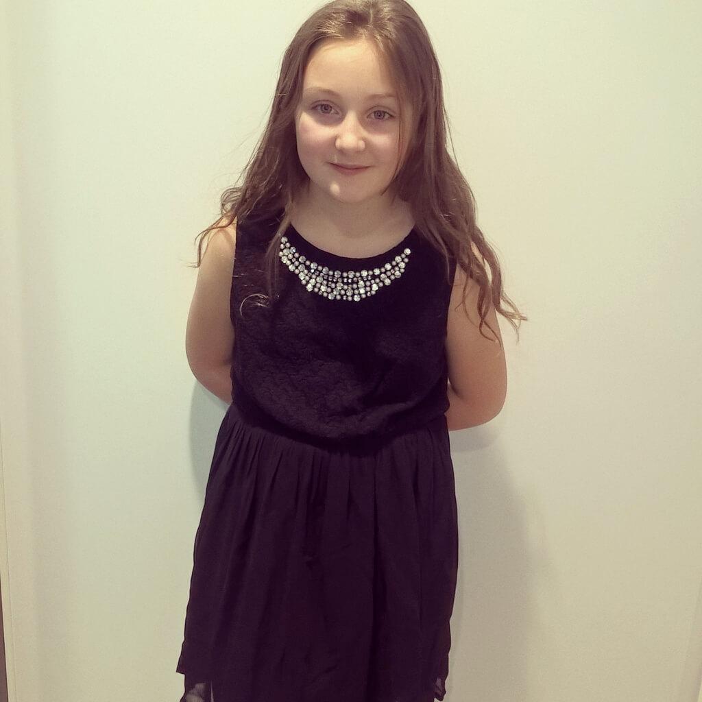 olivia in a primark dress