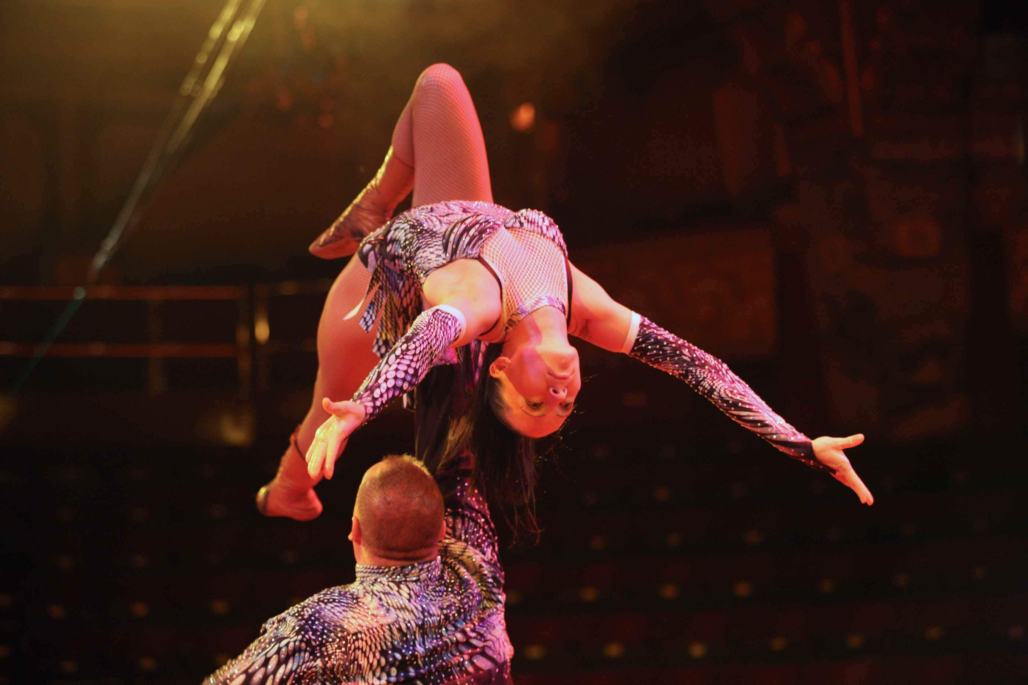 performers at the blackpool tower circus