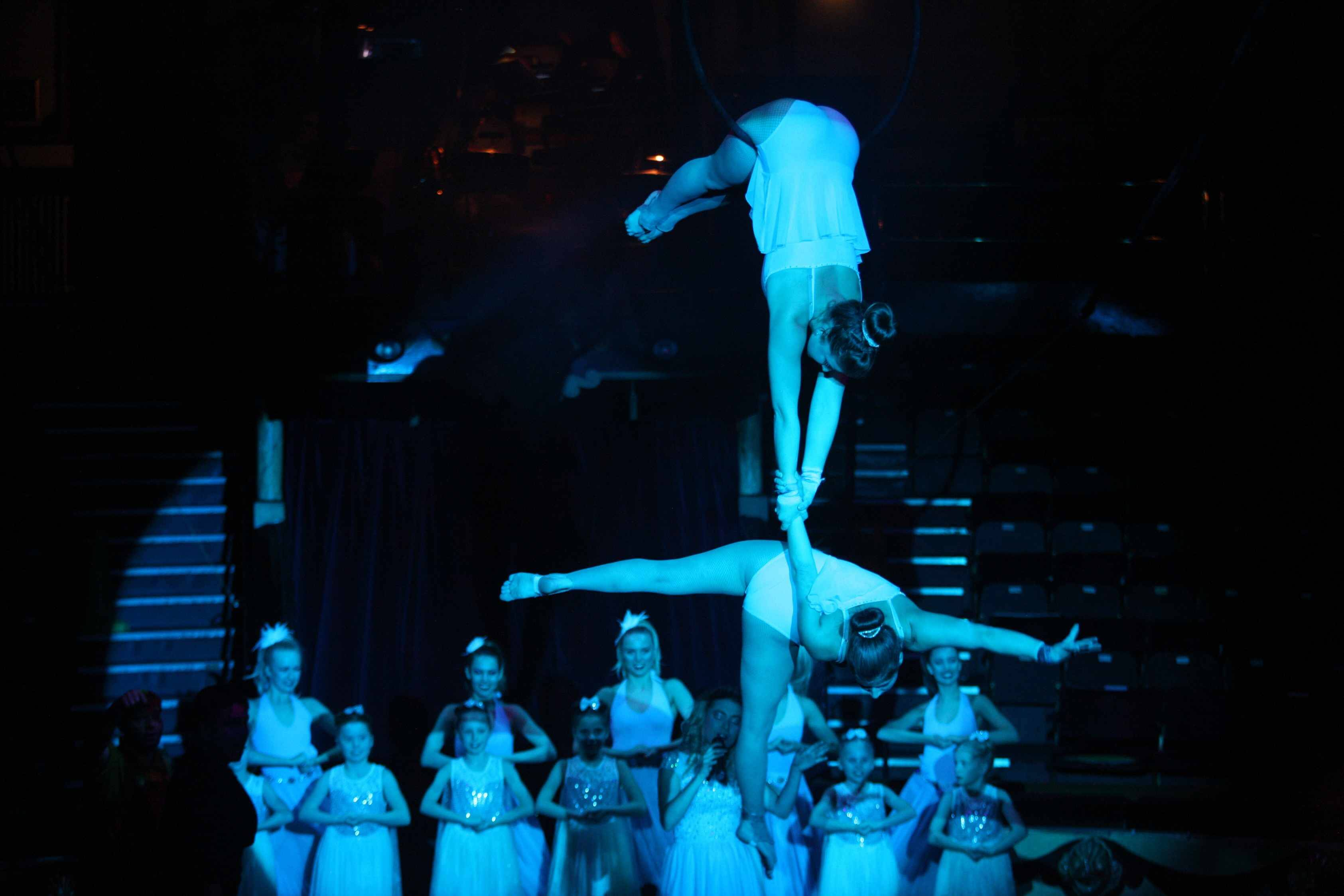 scenes from blackpool tower circus panto
