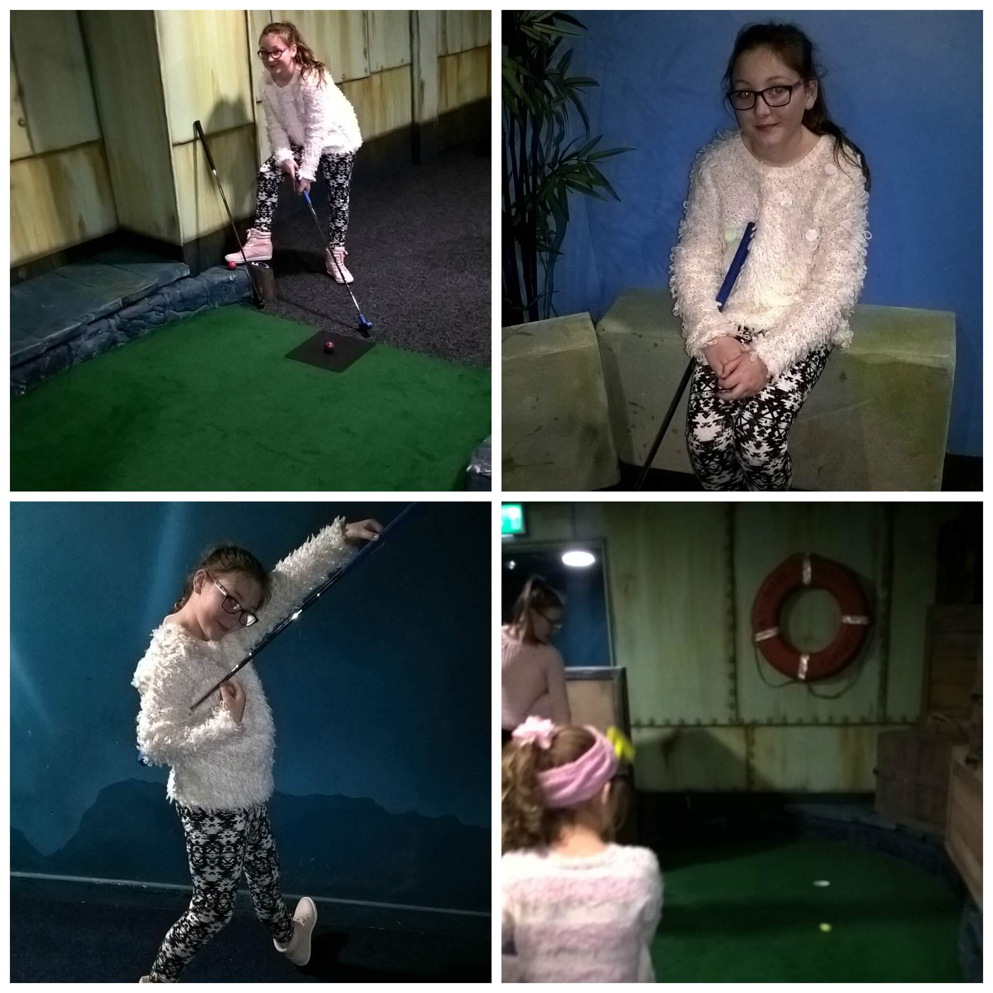 olivia at paradise island adventure golf