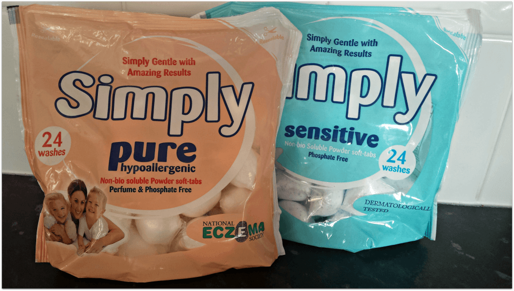 Simply Pure Allergen and Simply Sensitive Non Bio Review