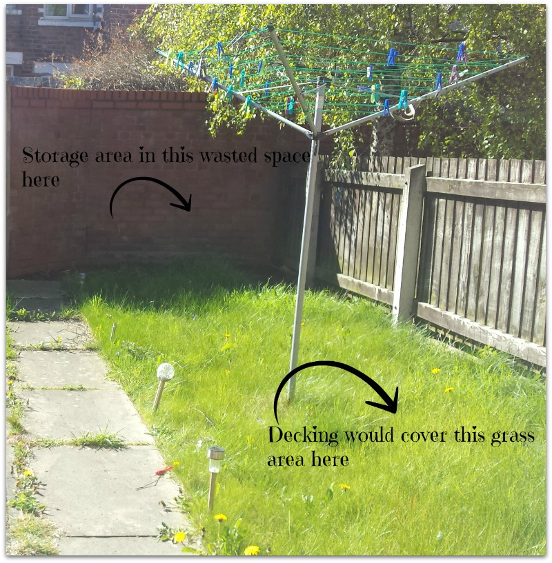 garden makeover needed