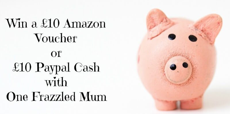 win a £10 amazon voucher or £10 paypal cash