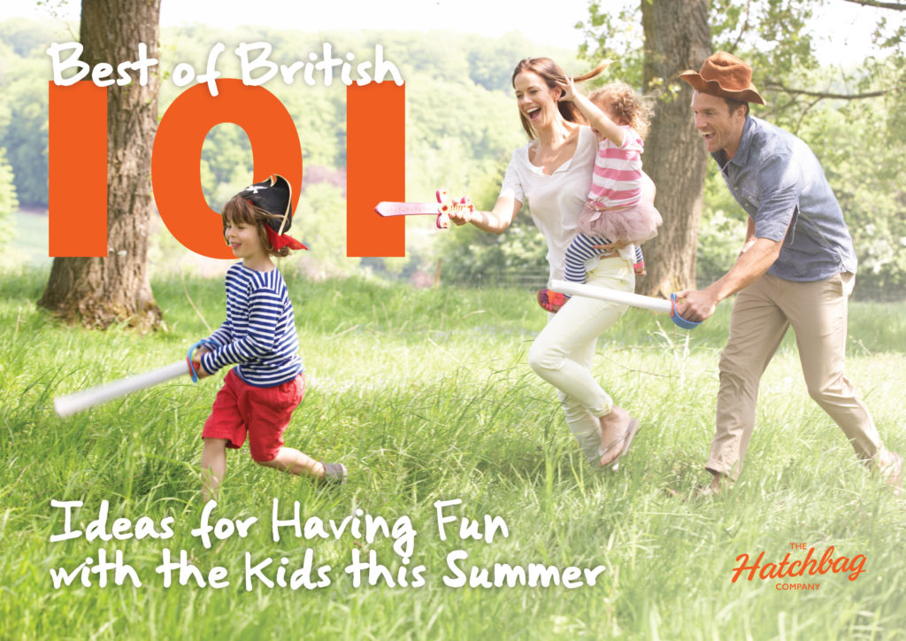 best of british 101 ideas for having fun with kids this summer front page design