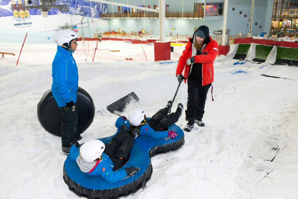 chill factore birthday parties instructor coaching picture