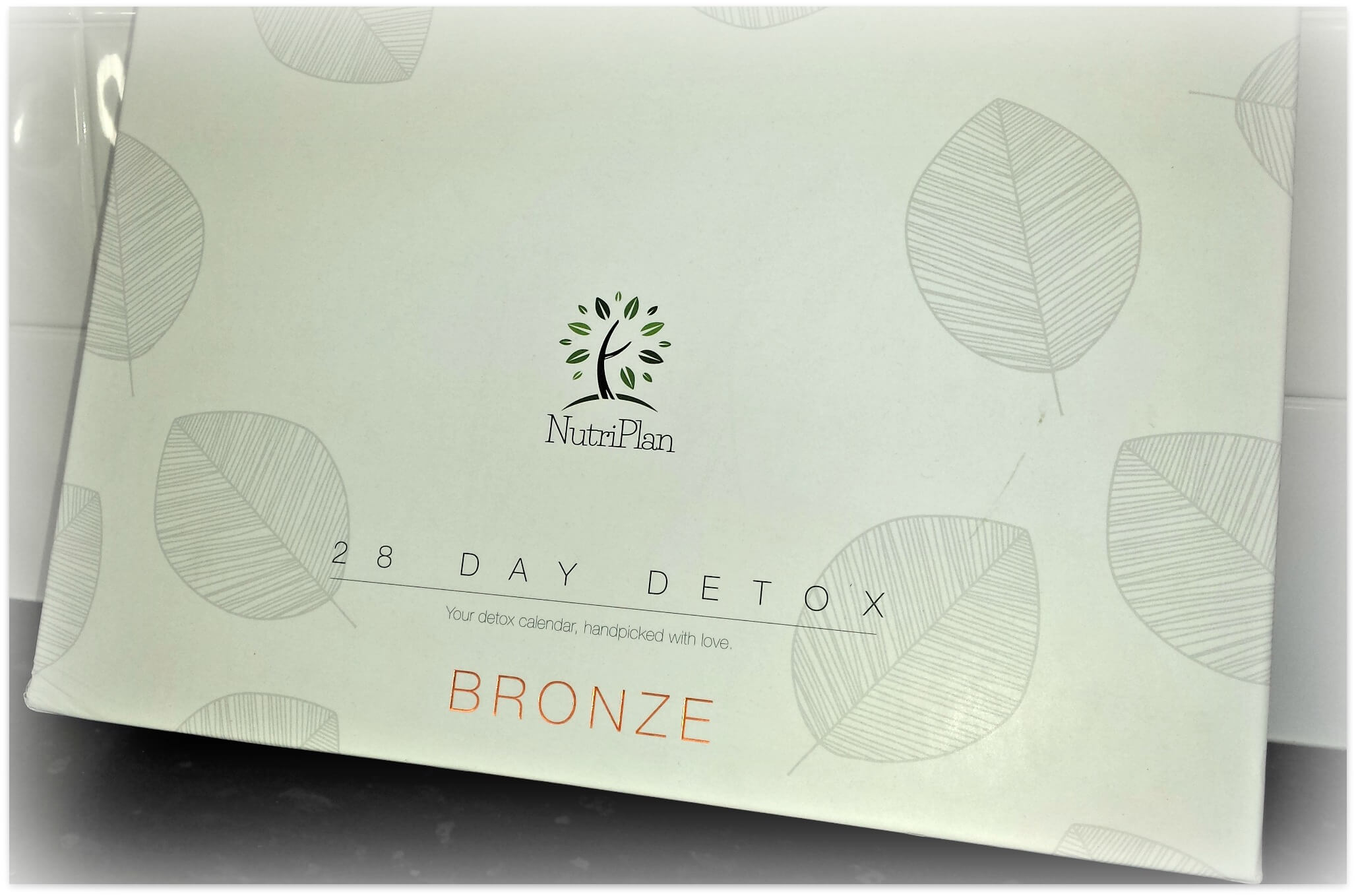 my 4 week detox with nutriplan