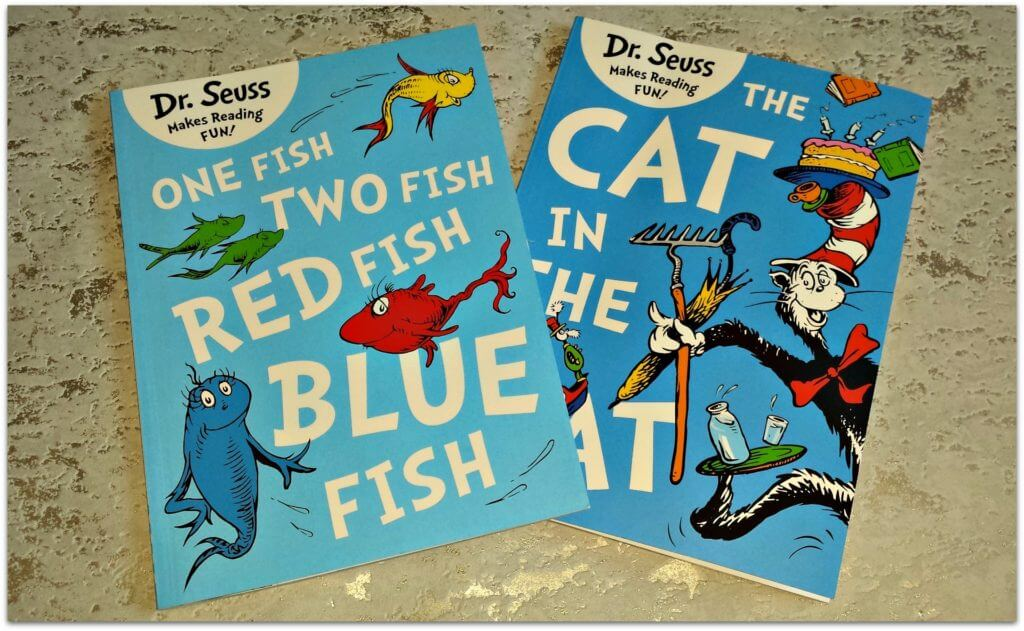 making reading fun with dr. suess 2 books