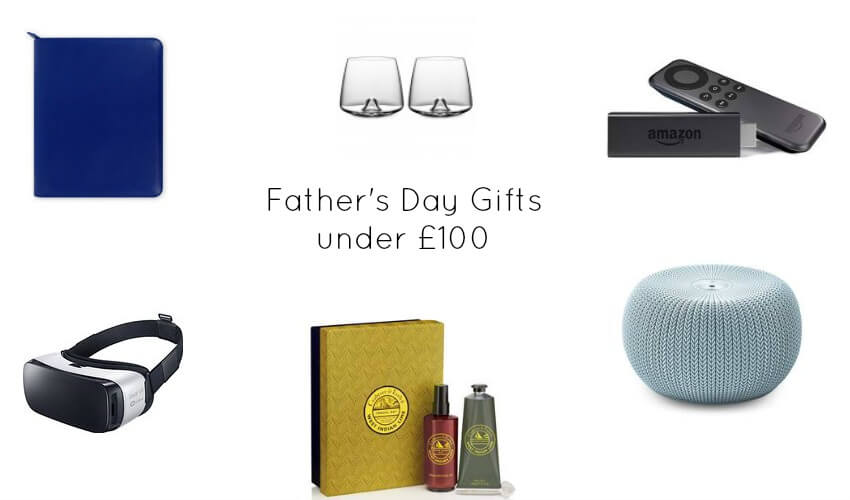 father's day gift guide for ideas under £100 including a vr headset amazon fire stick and beauty sets