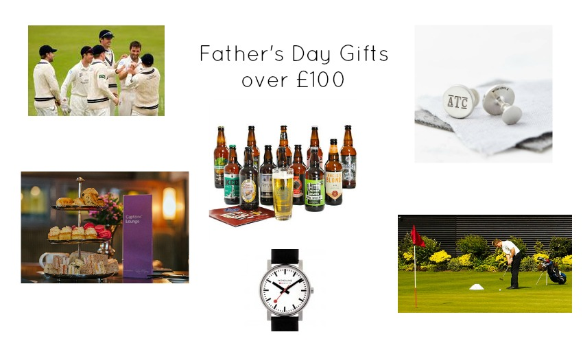 father's day gift guide with experience days ideas for cricket and golf and a beer subscription
