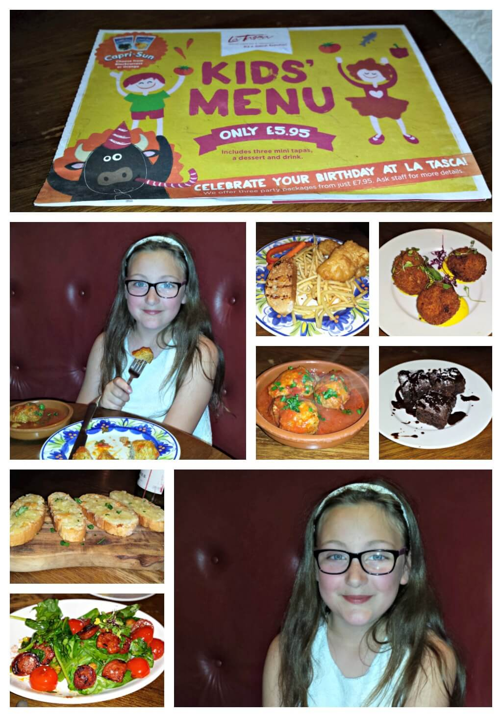 day trip round up pictures of us enjoying a meal at la tasca trafford centre