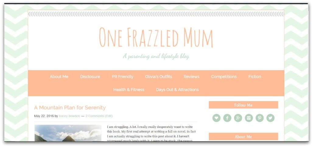 I have a new look image of old blog theme