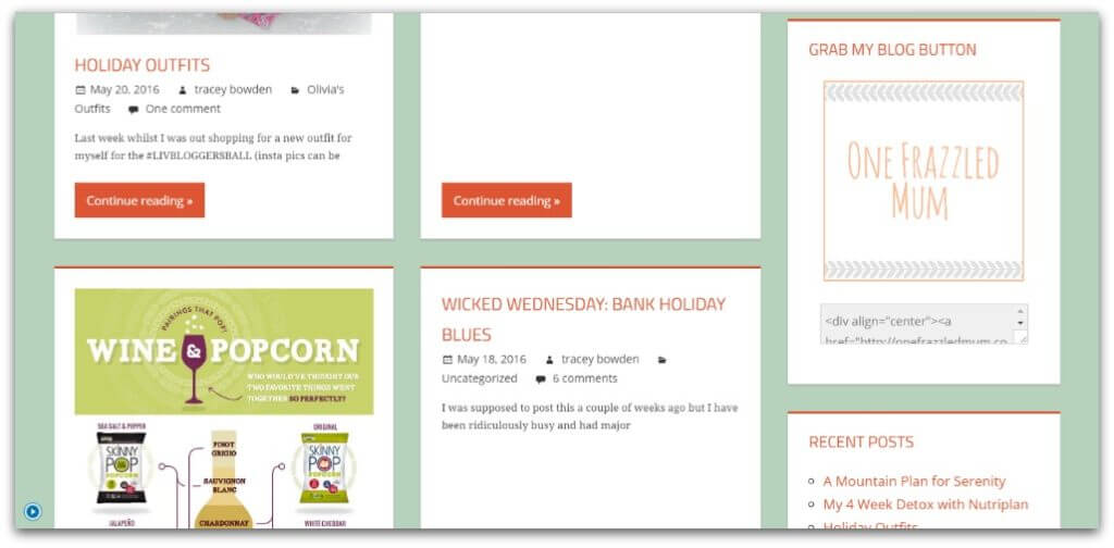 I have a new look blog theme box idea
