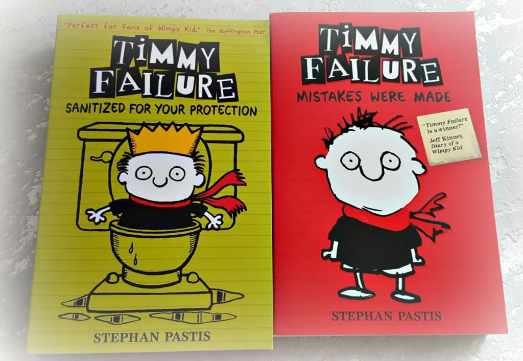 Competition win a copy of the new timmy failure book one frazzled mum win a copy of the new timmy failure book sanitized for your protection and mistakes were solutioingenieria Image collections