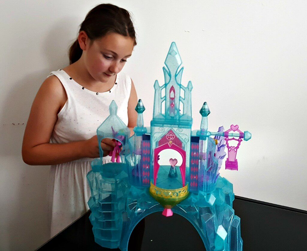 the my little pony explore equestria crystal empire castle review mlp-castle-olivia-playing