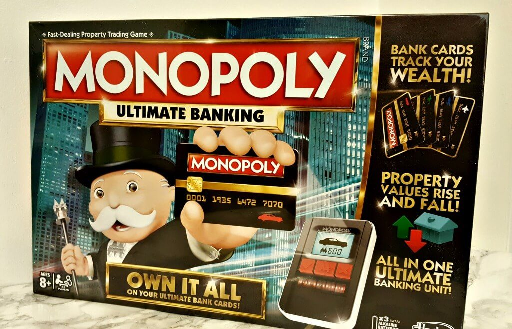 Upping Our Game With Monopoly Ultimate Banking One Frazzled Mum