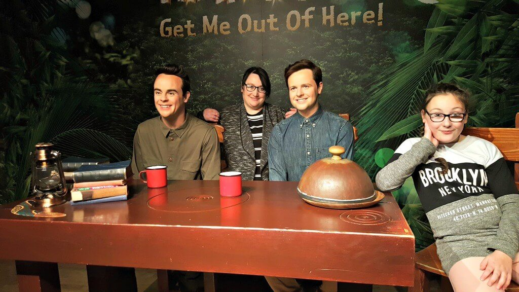 i'm a blogger get me out of here tussauds-me-and-liv-ant-and-dec