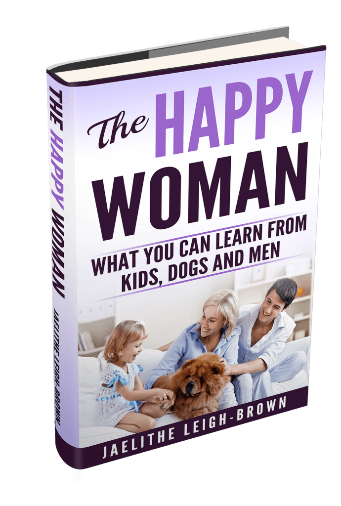 win a copy of the happy woman picture of the book cover