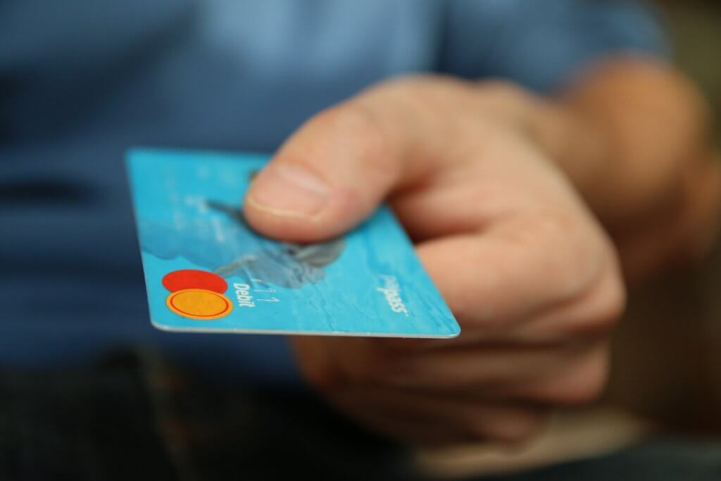 picture of credit card