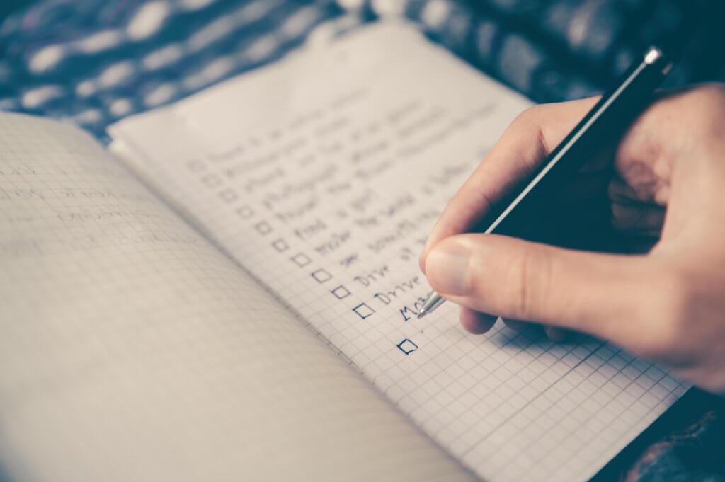 checklist for prepare your finances