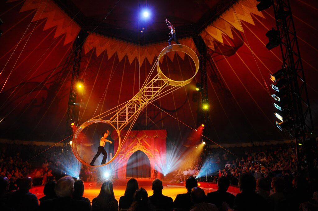 gandeys circus is back giant space wheel