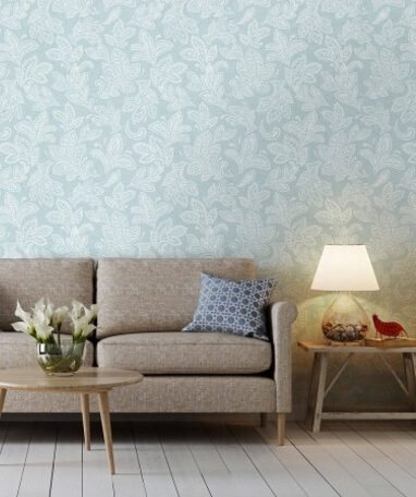 win with inspired wallpaper duck egg room decor