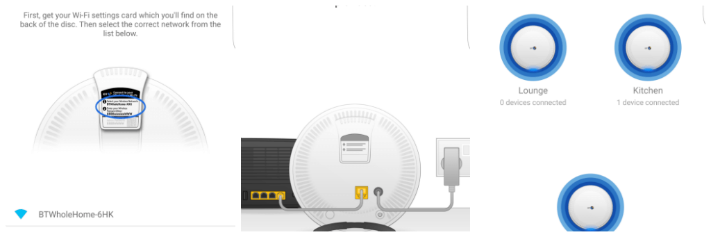 improve you home wifi connection with the app screenshots