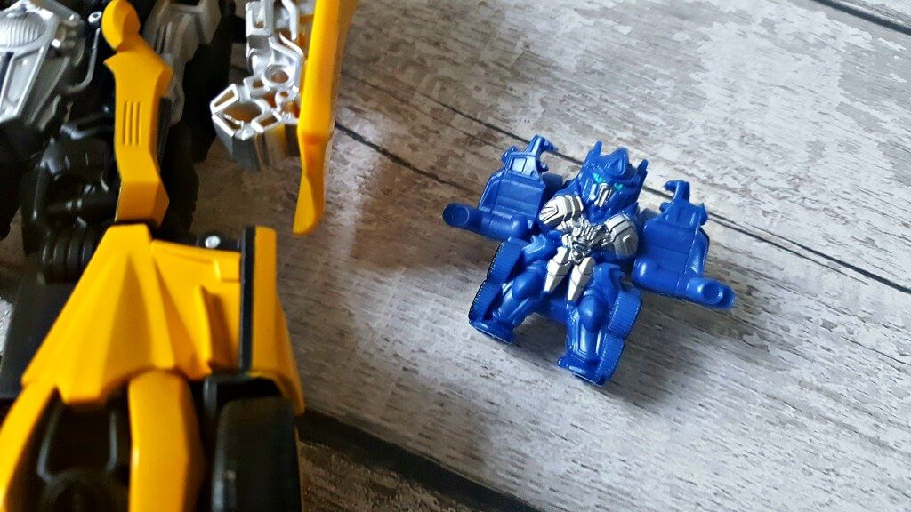 transformers bumblebee turbo changer review tiny turbo changer optimus prime