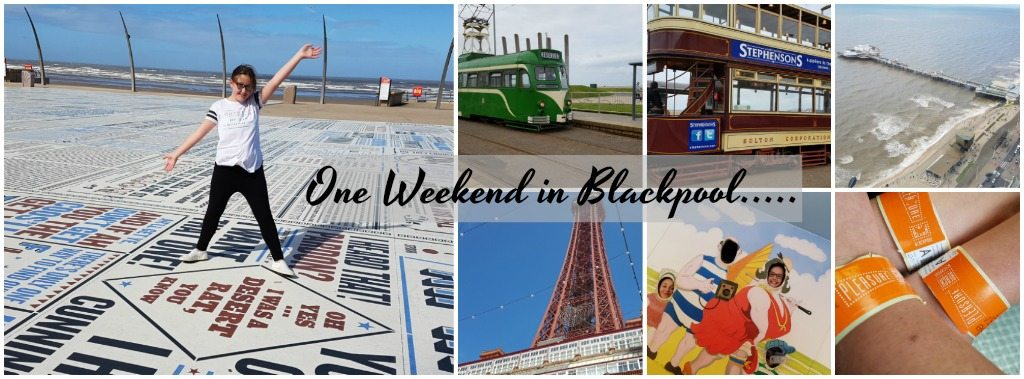 staycation in blackpool collage