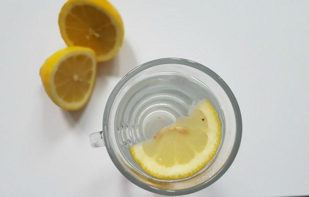 lemons in hot water for lighterlife fast diet