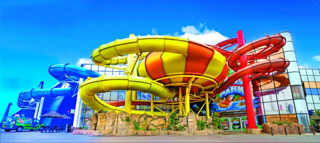 slides-at-sandcastle-waterpark