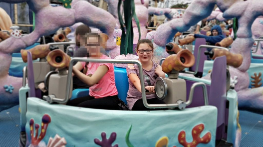 girls-on-water-ride-in-blackpool