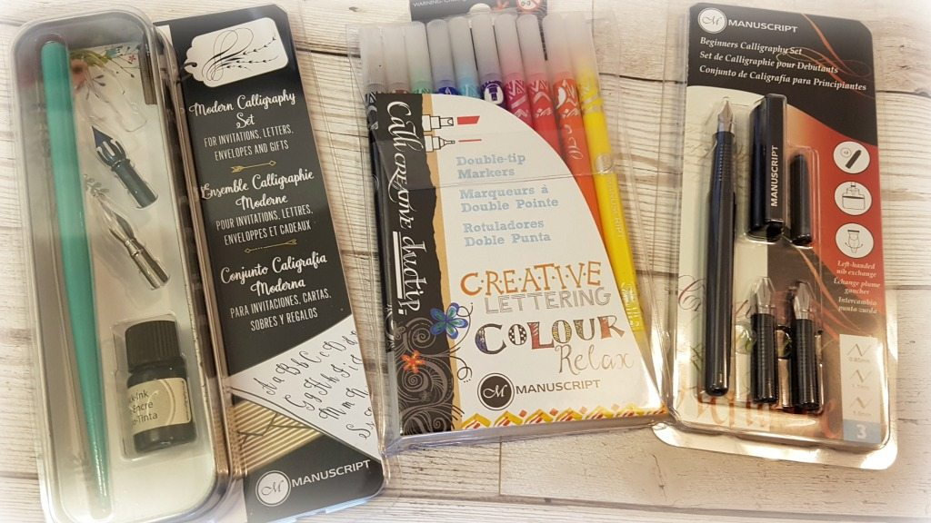 world calligraphy day manuscript pen sets