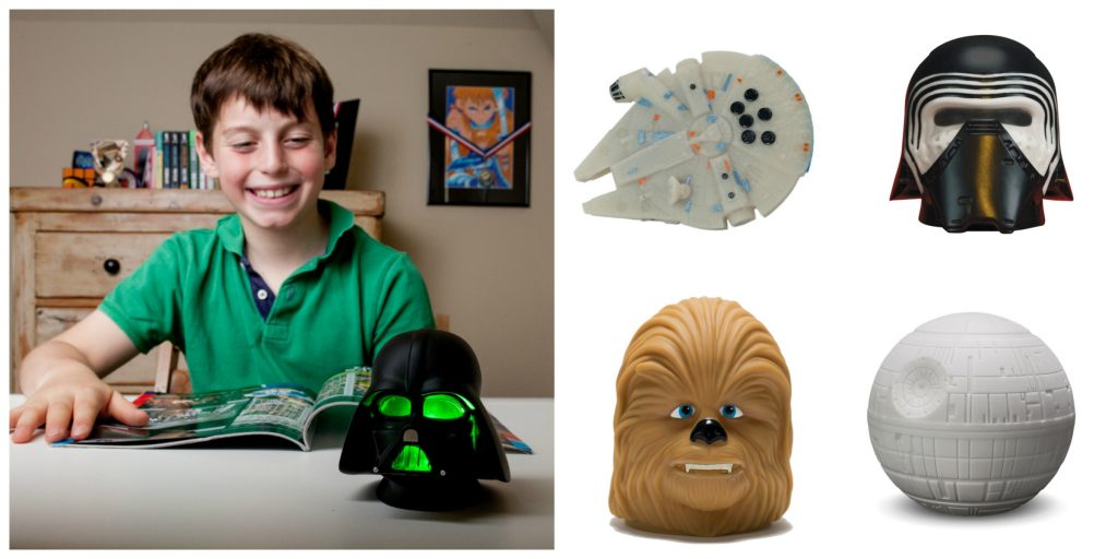 collage of star wars products from spearmark