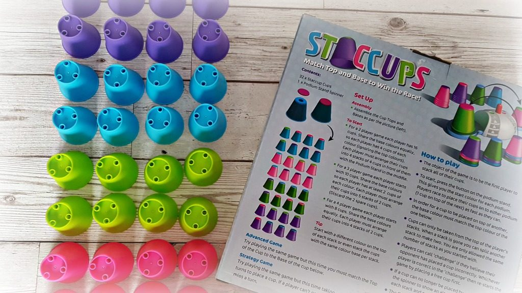 staccups review - cups and instructions