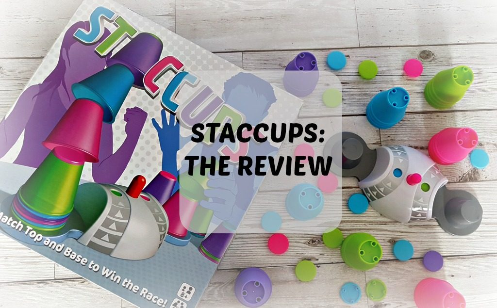 staccups review - box and game pieces