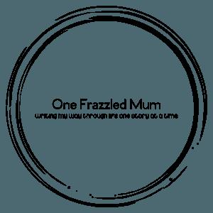 professional custom logo - new one frazzled mum logo