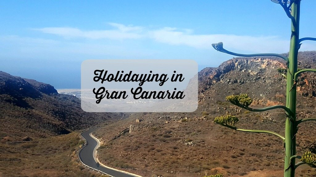 mountain view of gran canaria