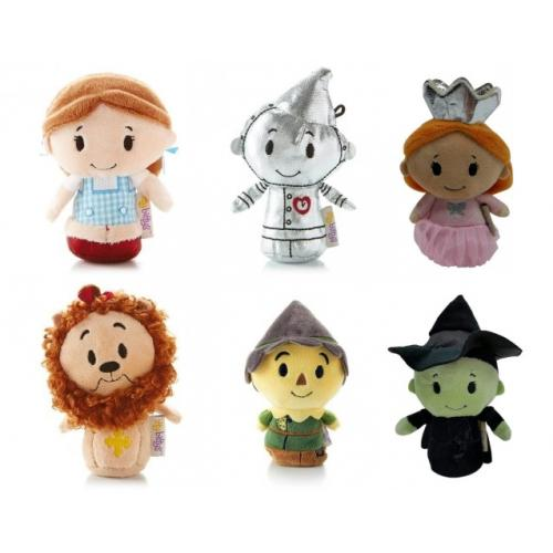 6 characters from the itty bitty wizard of oz collection