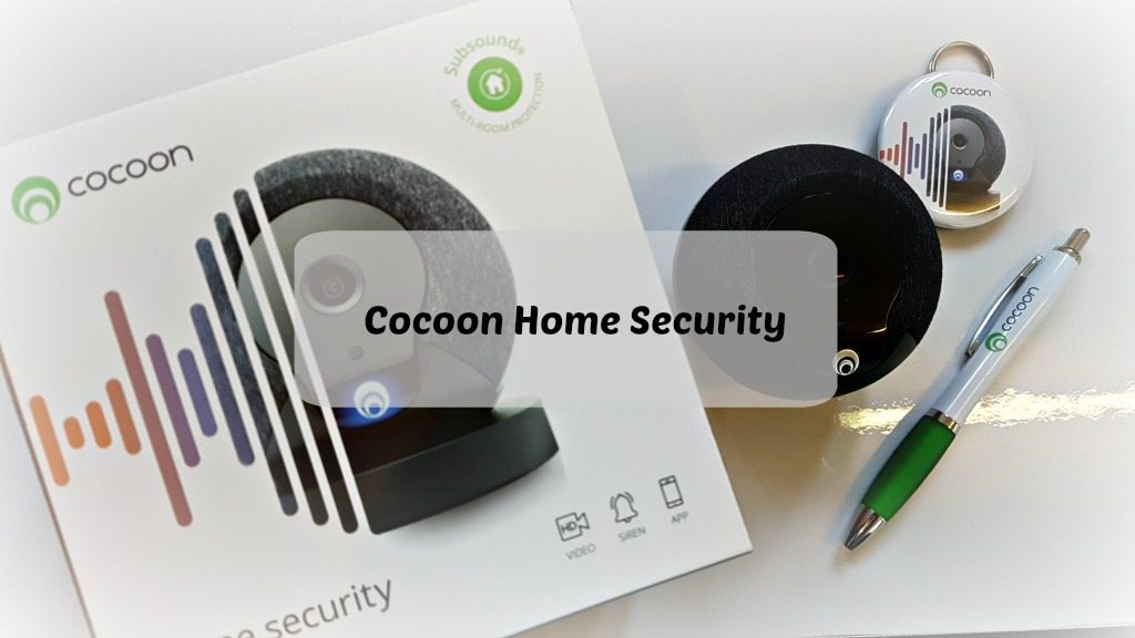 cocoon security box and monitor with words overlay
