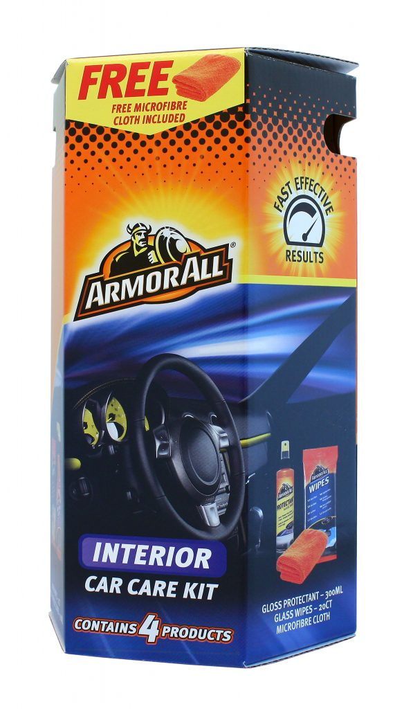 image of an armor all interior car care kit