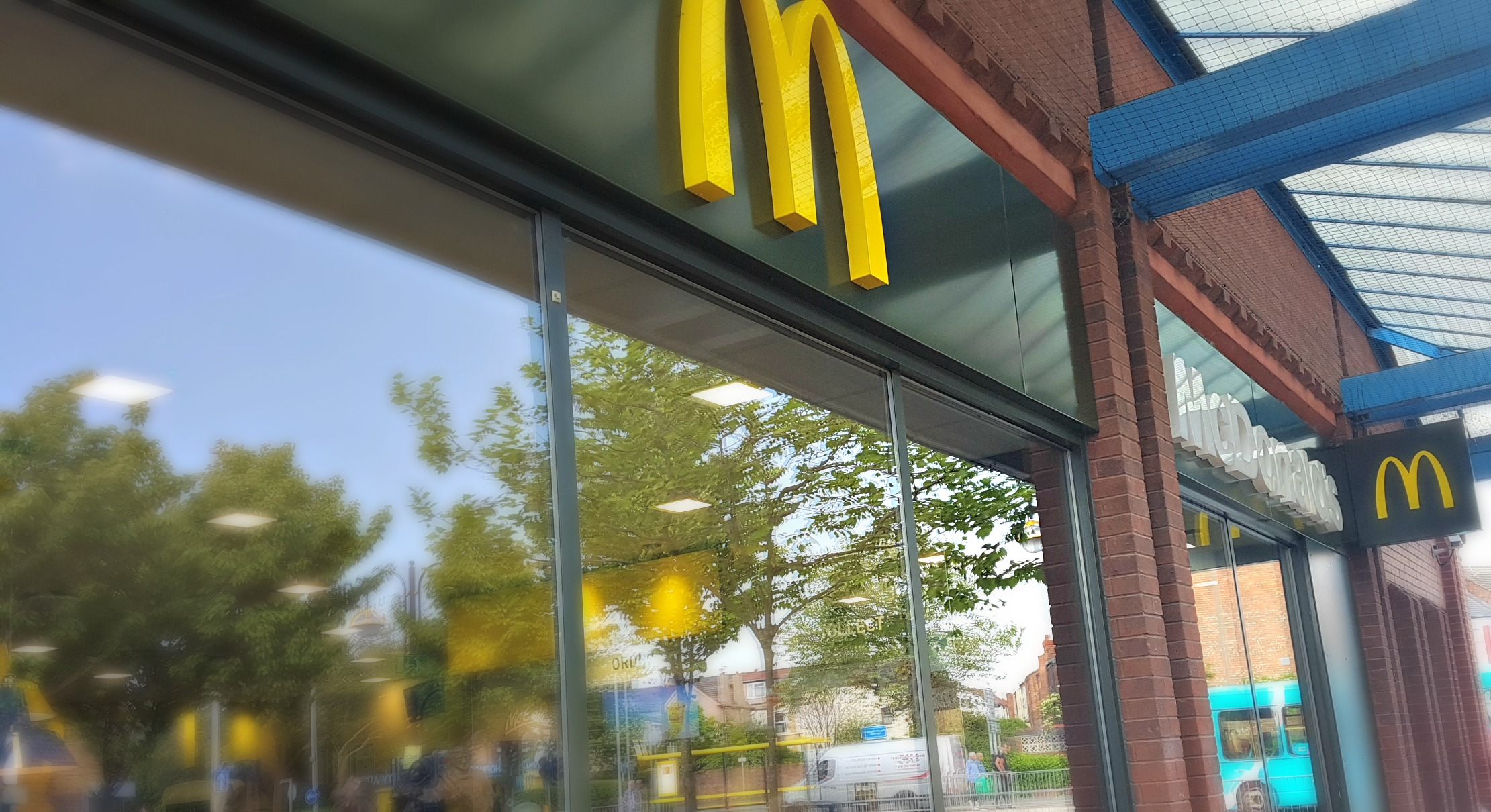 outside image of a mcdonald's store