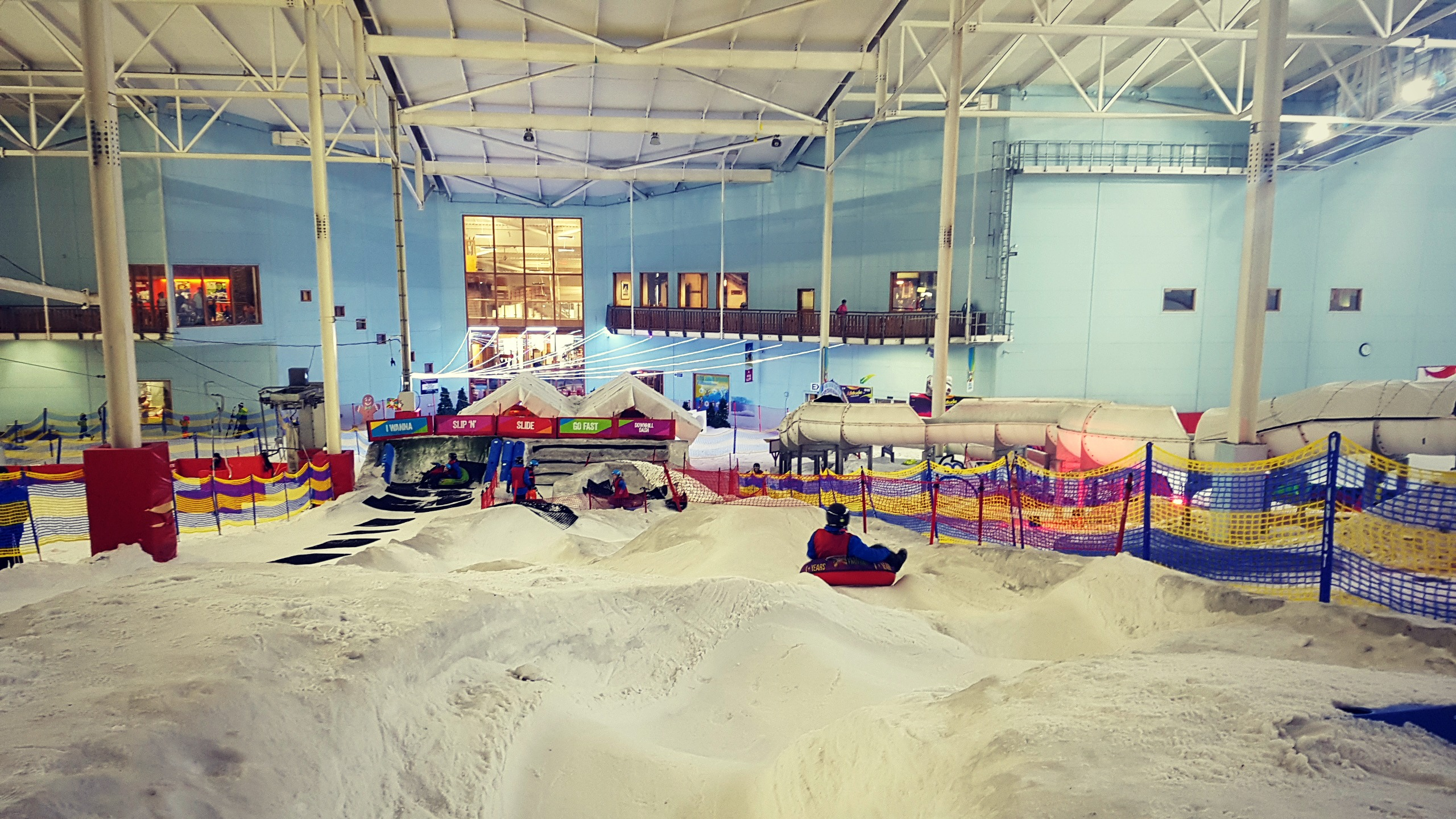 image of the donut run in altitude chill factore in manchester