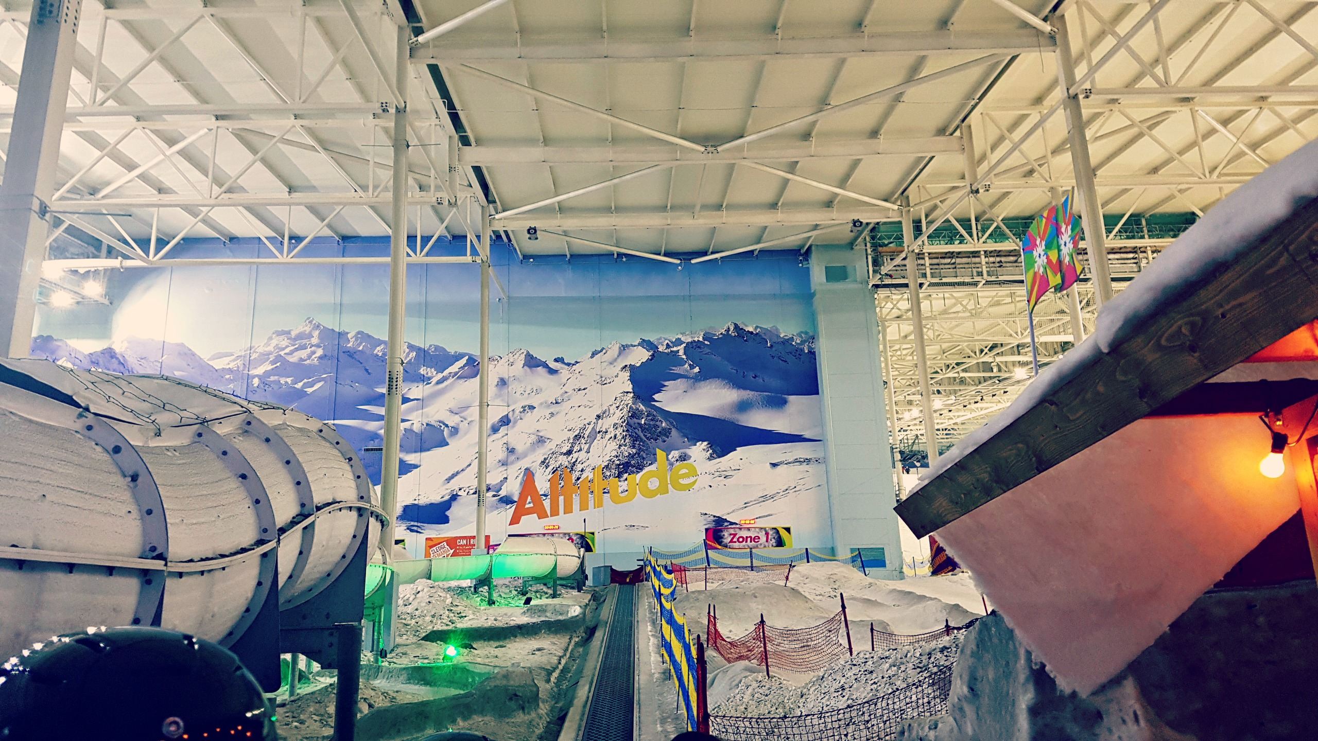 image of altitude at chill factore in manchester